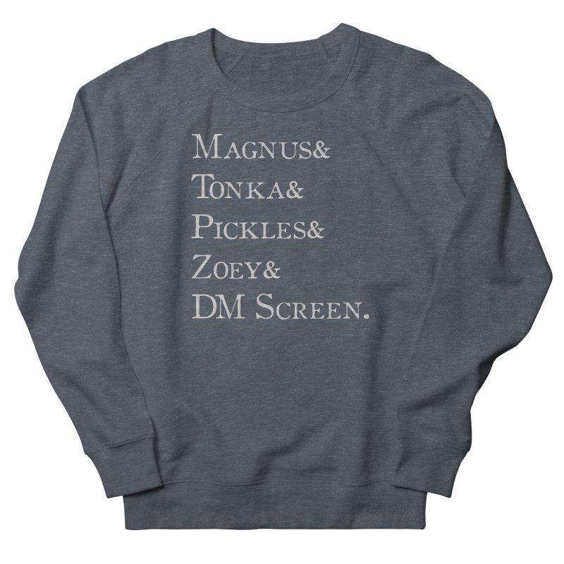 Magnus&Tonka&Pickles&Zoey&DM Screen Men's Sweatshirt by DnDoggos's Artist Shop