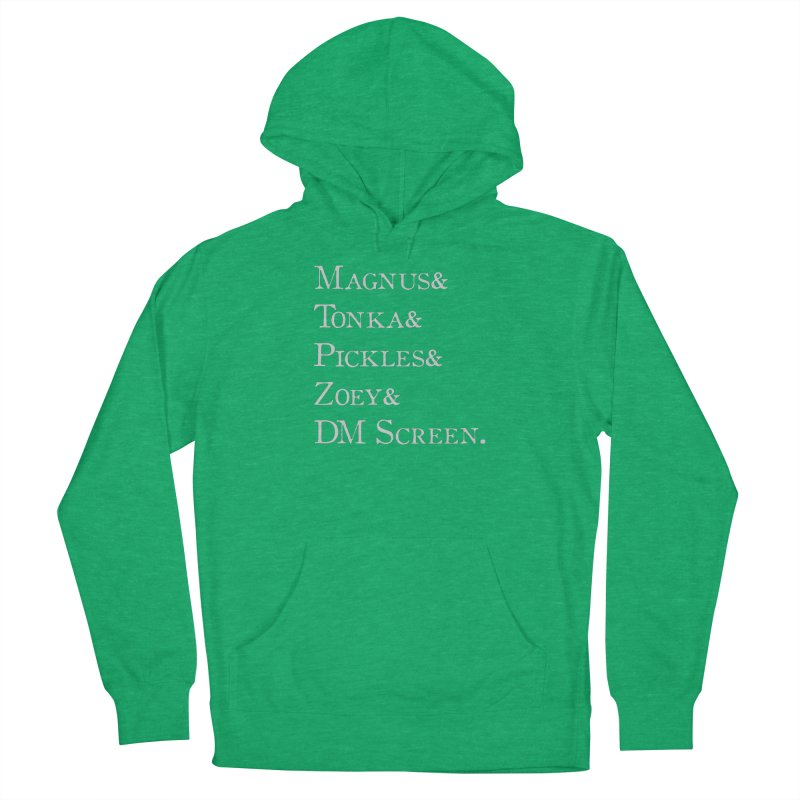 Magnus&Tonka&Pickles&Zoey&DM Screen Men's Pullover Hoody by DnDoggos's Artist Shop