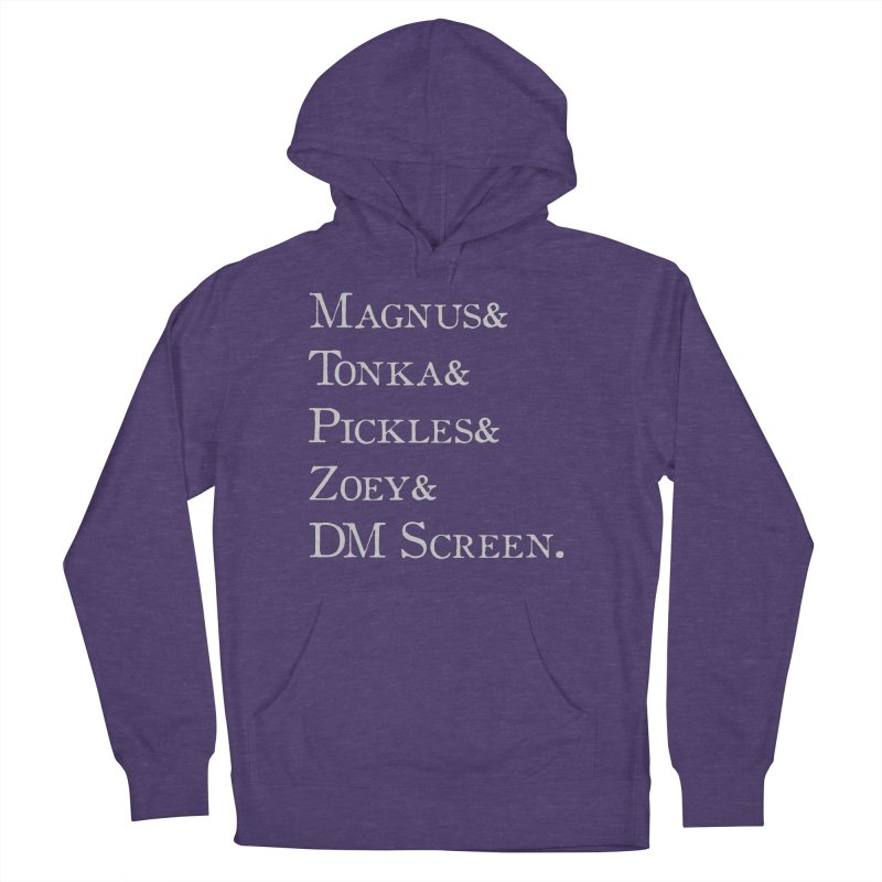 Magnus&Tonka&Pickles&Zoey&DM Screen Men's French Terry Pullover Hoody by DnDoggos's Artist Shop