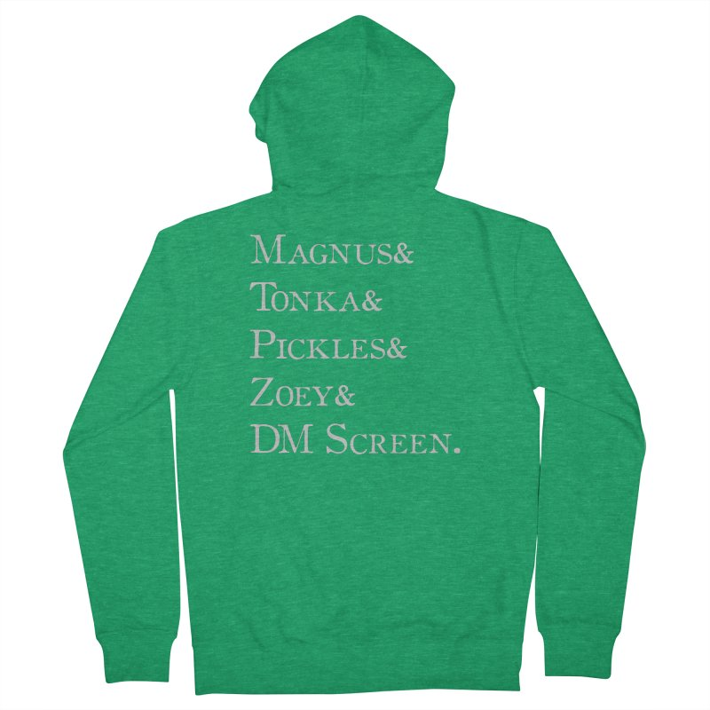 Magnus&Tonka&Pickles&Zoey&DM Screen Women's Zip-Up Hoody by DnDoggos's Artist Shop