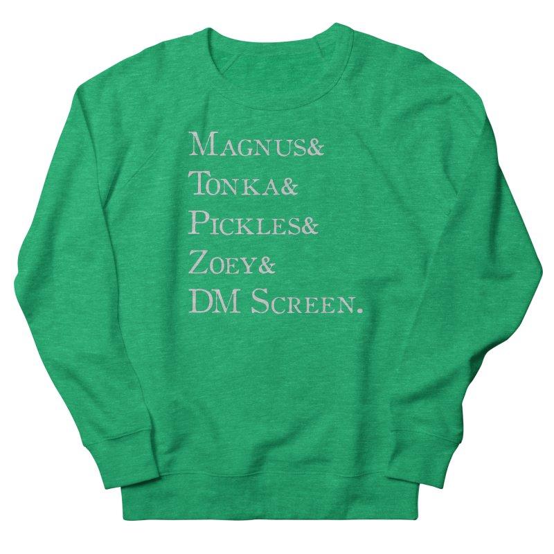 Magnus&Tonka&Pickles&Zoey&DM Screen Women's Sweatshirt by DnDoggos's Artist Shop