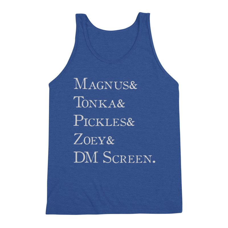 Magnus&Tonka&Pickles&Zoey&DM Screen Men's Tank by DnDoggos's Artist Shop