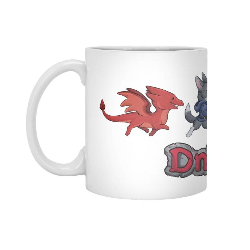 The DnDoggos Accessories Standard Mug by DnDoggos's Artist Shop