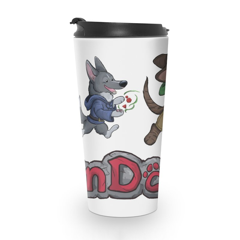 The DnDoggos Accessories Travel Mug by DnDoggos's Artist Shop