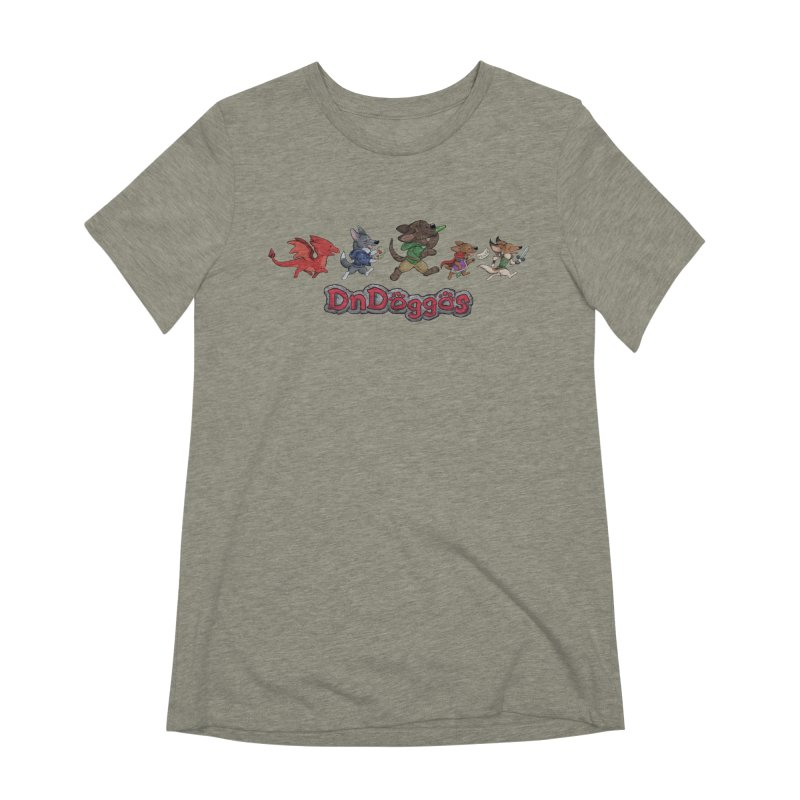 The DnDoggos Women's Extra Soft T-Shirt by DnDoggos's Artist Shop