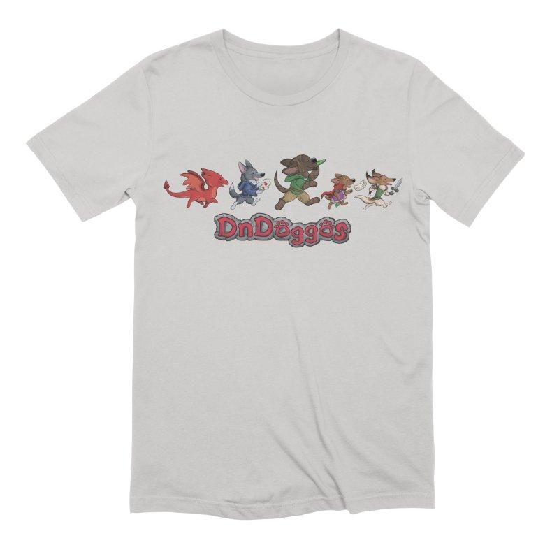 The DnDoggos Men's Extra Soft T-Shirt by DnDoggos's Artist Shop