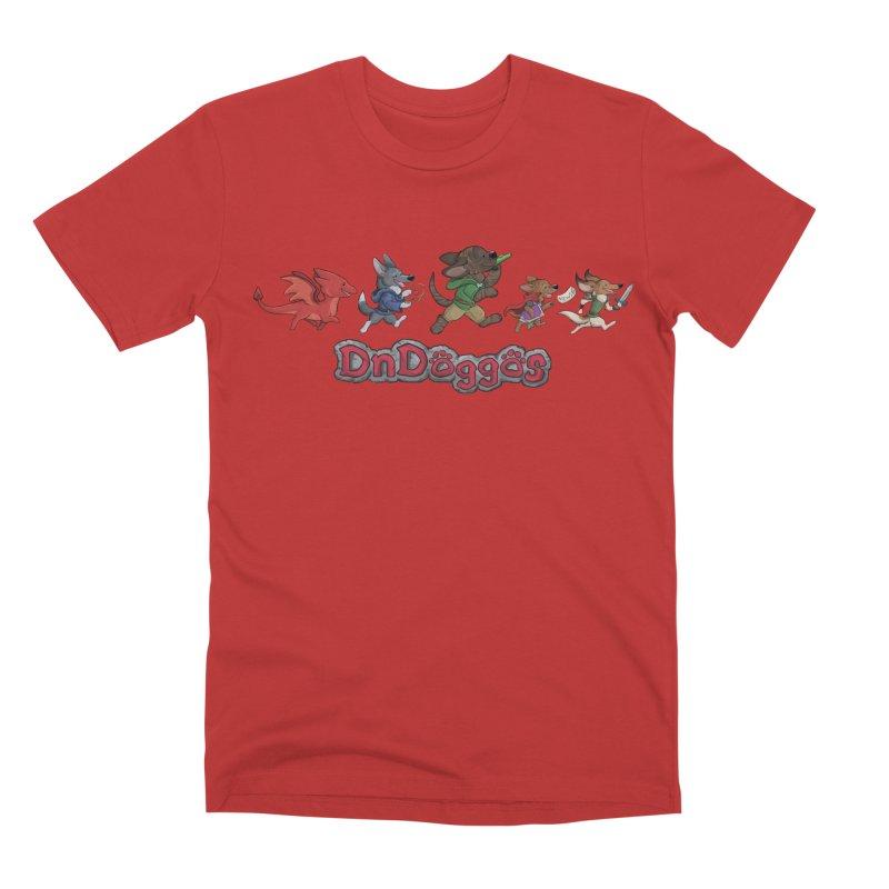 The DnDoggos Men's Premium T-Shirt by DnDoggos's Artist Shop