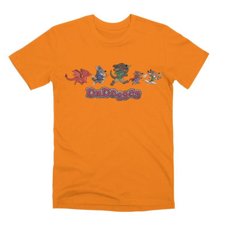 The DnDoggos Men's T-Shirt by DnDoggos's Artist Shop
