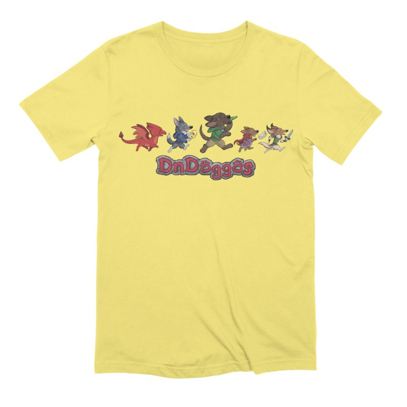 The DnDoggos Men's Extra Soft T-Shirt by DnDoggos's Artist Shop