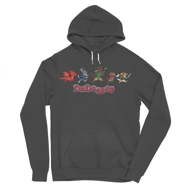 The DnDoggos Men's Sponge Fleece Pullover Hoody by DnDoggos's Artist Shop