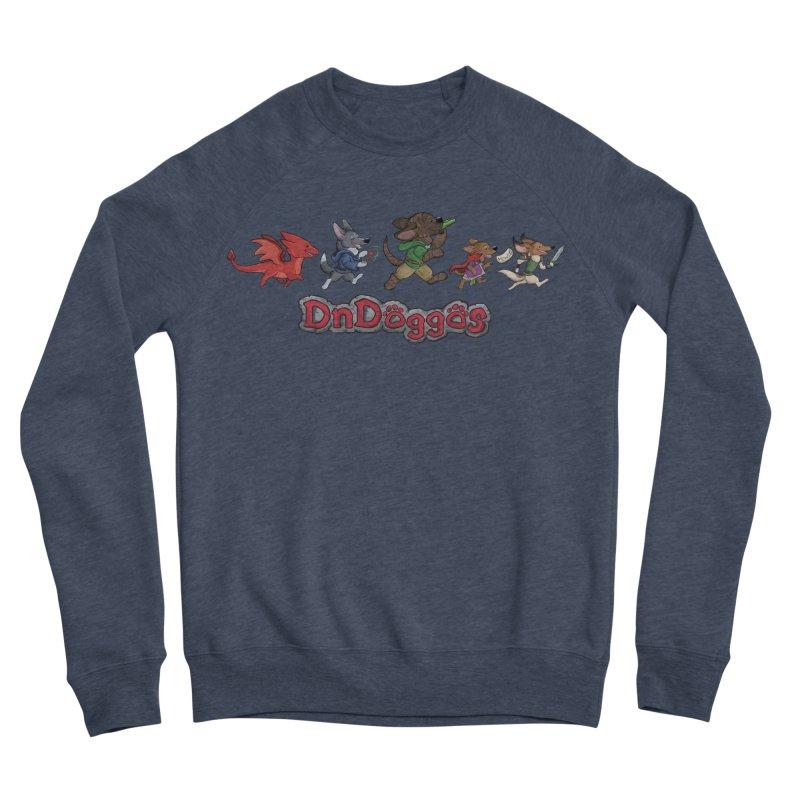 The DnDoggos Men's Sponge Fleece Sweatshirt by DnDoggos's Artist Shop