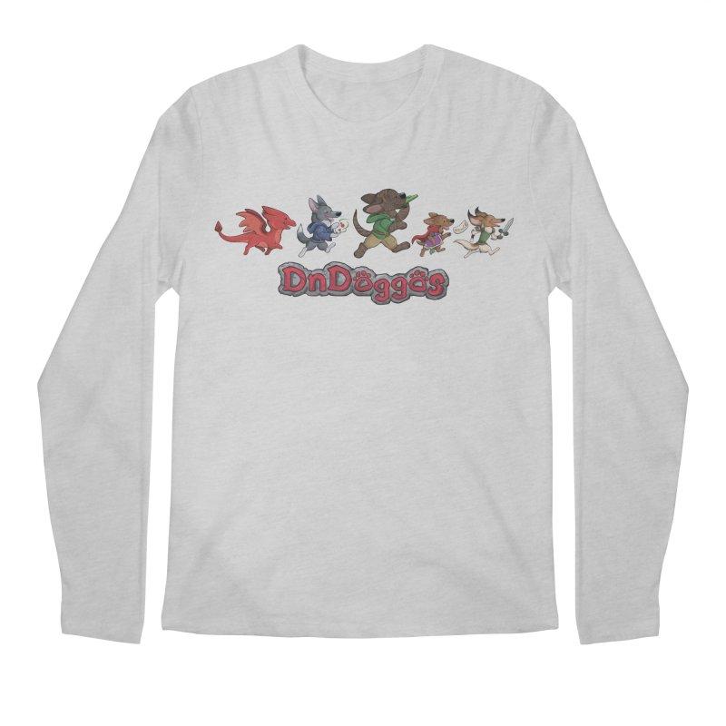 The DnDoggos Men's Regular Longsleeve T-Shirt by DnDoggos's Artist Shop
