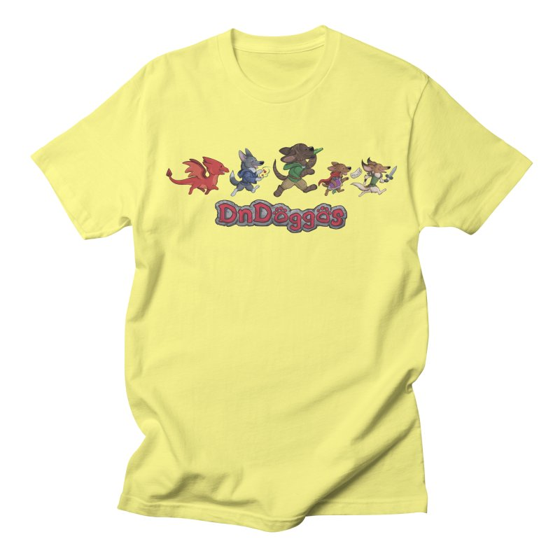 The DnDoggos Men's Regular T-Shirt by DnDoggos's Artist Shop