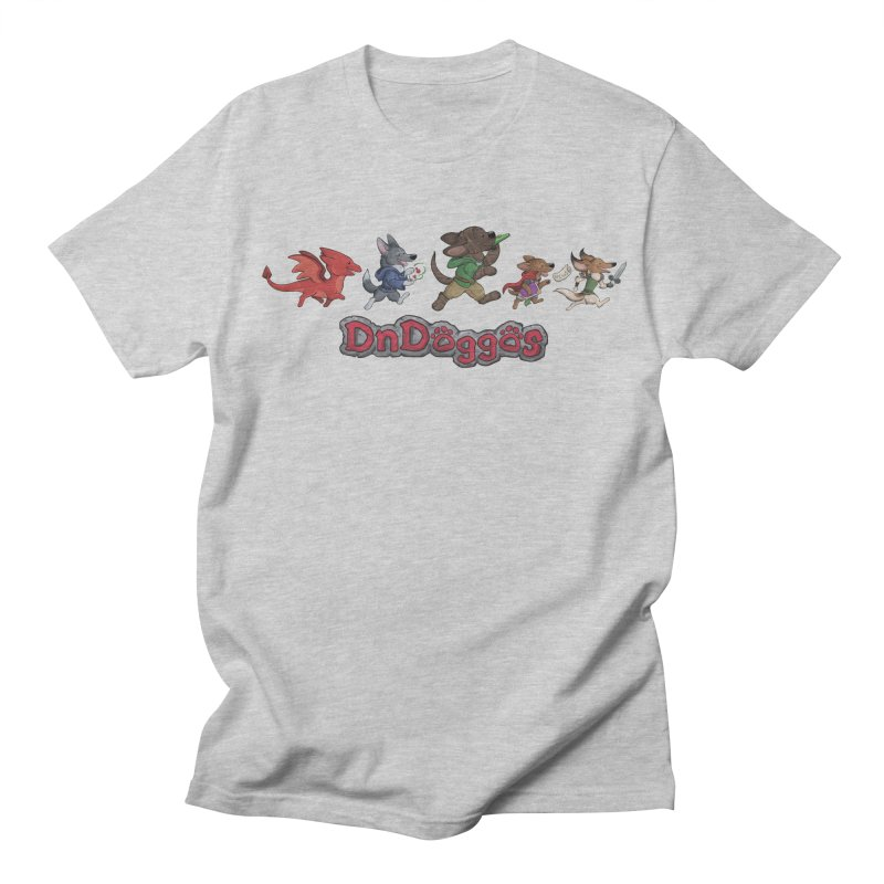 The DnDoggos Men's Regular T-Shirt by DnDoggos's Artist Shop