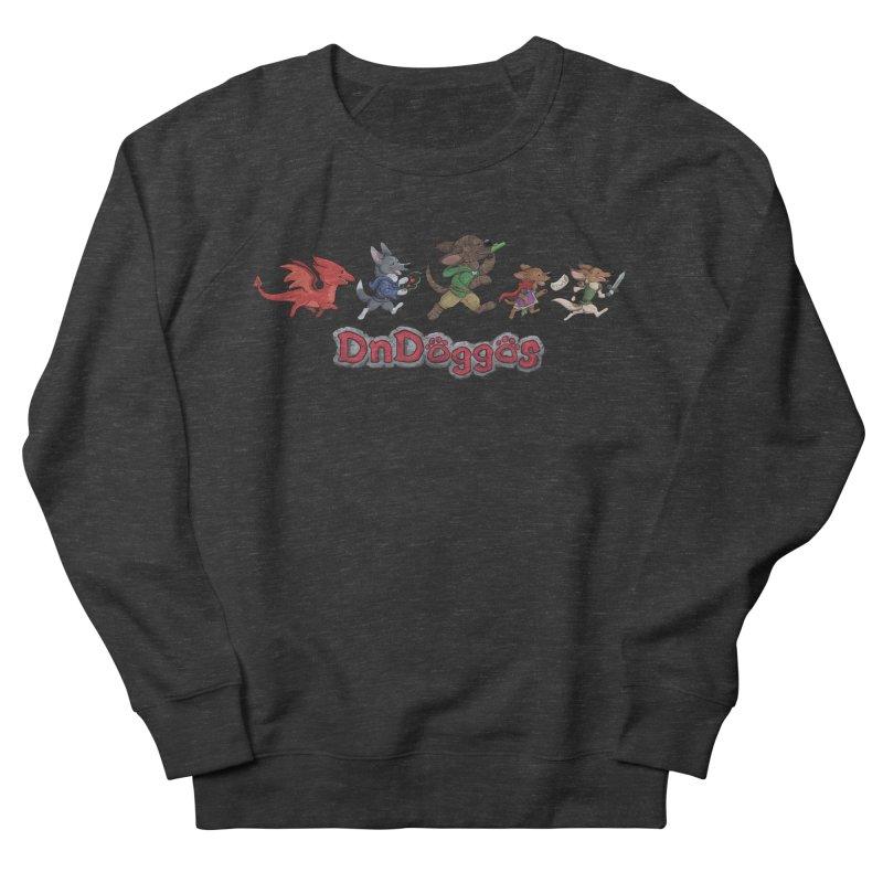 The DnDoggos Men's French Terry Sweatshirt by DnDoggos's Artist Shop