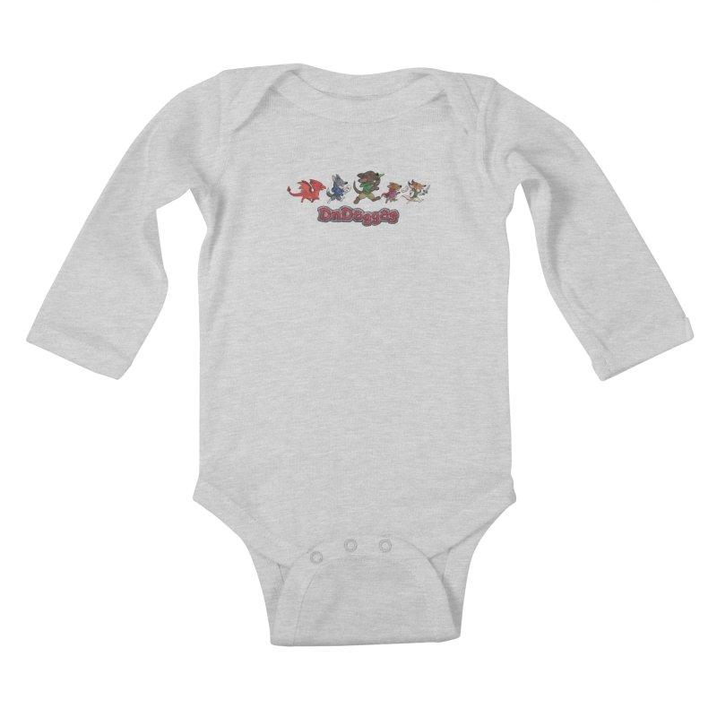 The DnDoggos Kids Baby Longsleeve Bodysuit by DnDoggos's Artist Shop