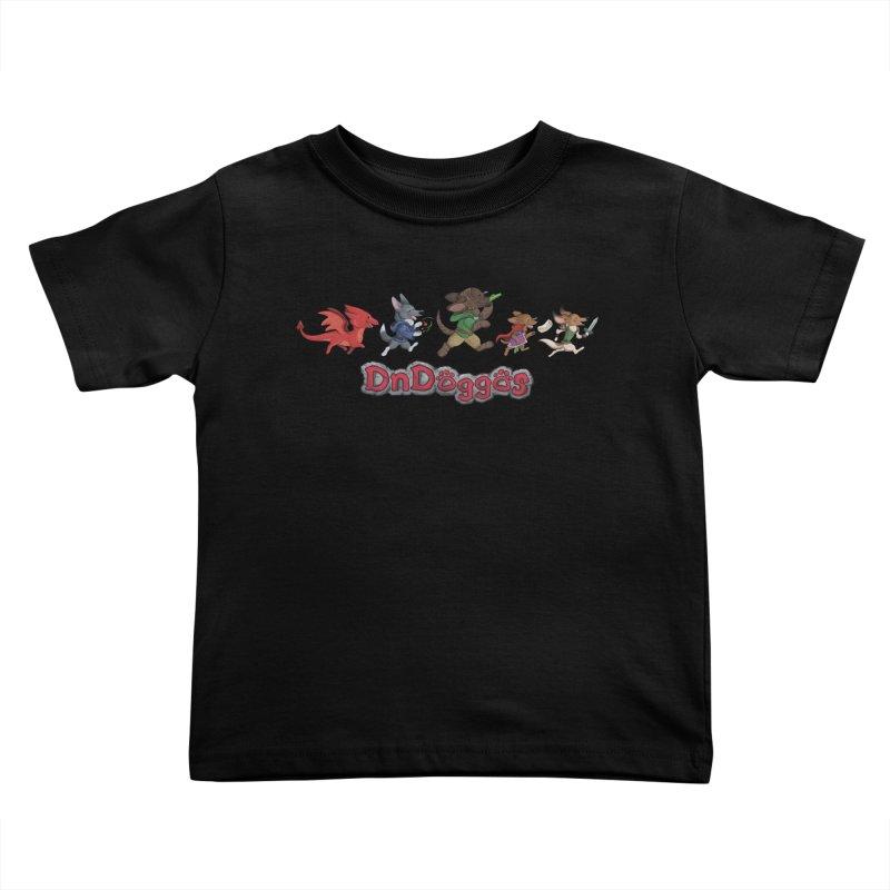 The DnDoggos Kids Toddler T-Shirt by DnDoggos's Artist Shop
