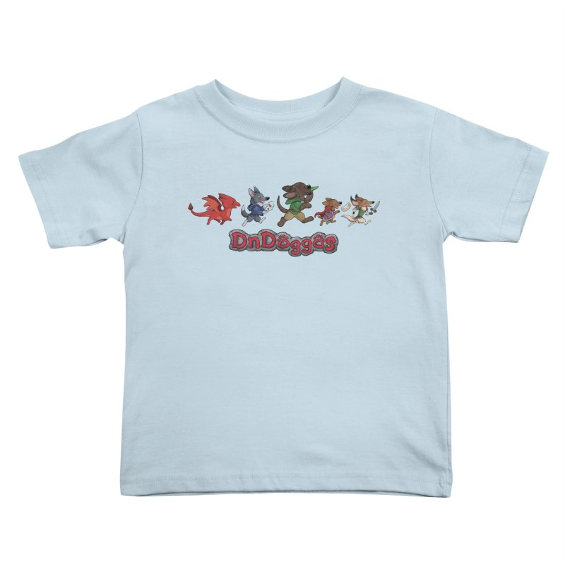 The DnDoggos Kids Toddler T-Shirt by DnDoggos's Artist Shop