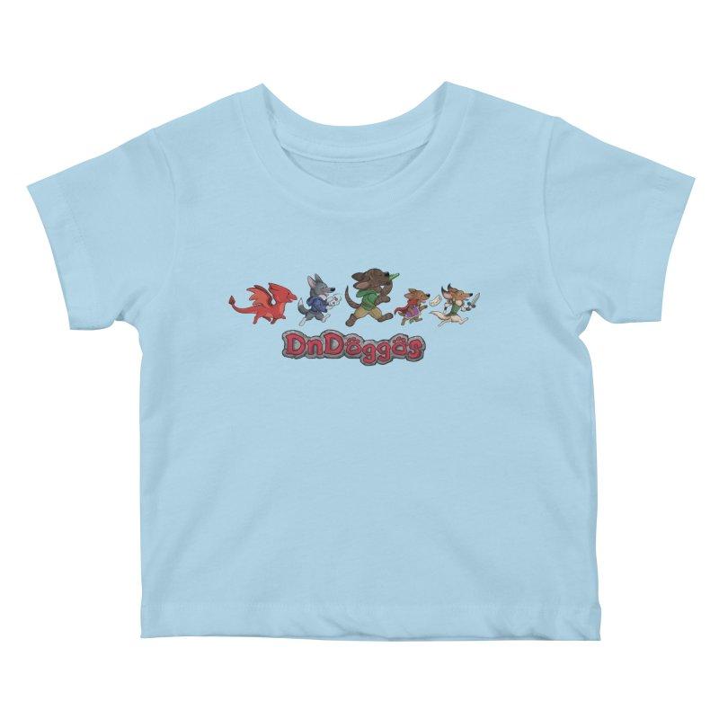 The DnDoggos Kids Baby T-Shirt by DnDoggos's Artist Shop