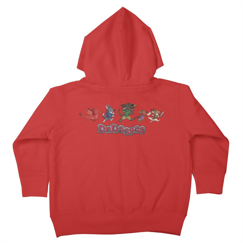 The DnDoggos Kids Toddler Zip-Up Hoody by DnDoggos's Artist Shop