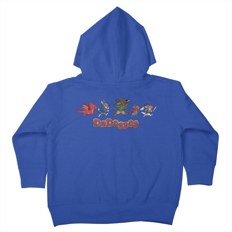The DnDoggos Kids Toddler Zip-Up Hoody by DnDoggos's Artist Shop