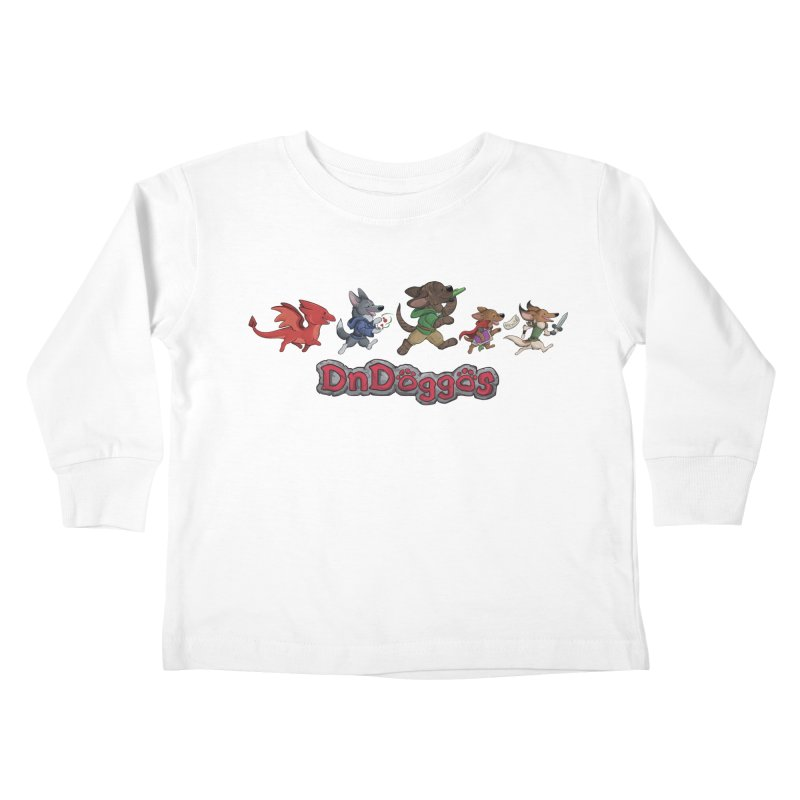 The DnDoggos Kids Toddler Longsleeve T-Shirt by DnDoggos's Artist Shop