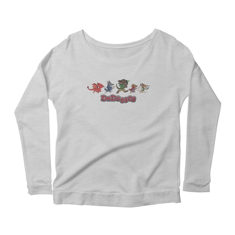 The DnDoggos Women's Scoop Neck Longsleeve T-Shirt by DnDoggos's Artist Shop