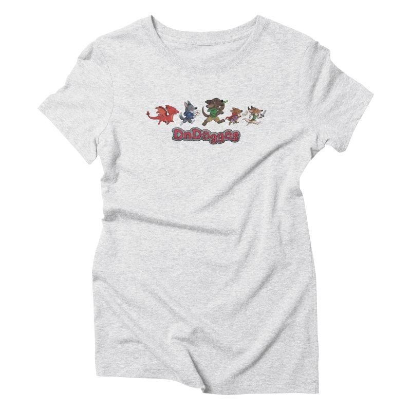 The DnDoggos Women's Triblend T-Shirt by DnDoggos's Artist Shop
