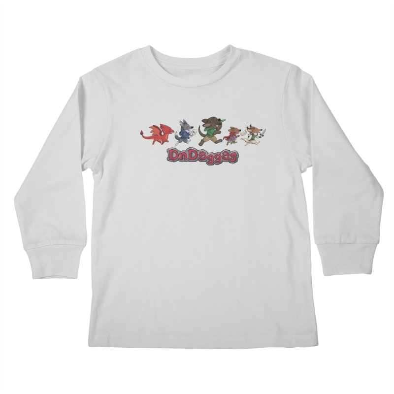 The DnDoggos Kids Longsleeve T-Shirt by DnDoggos's Artist Shop