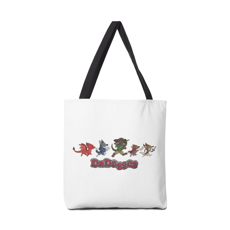 The DnDoggos Accessories Tote Bag Bag by DnDoggos's Artist Shop