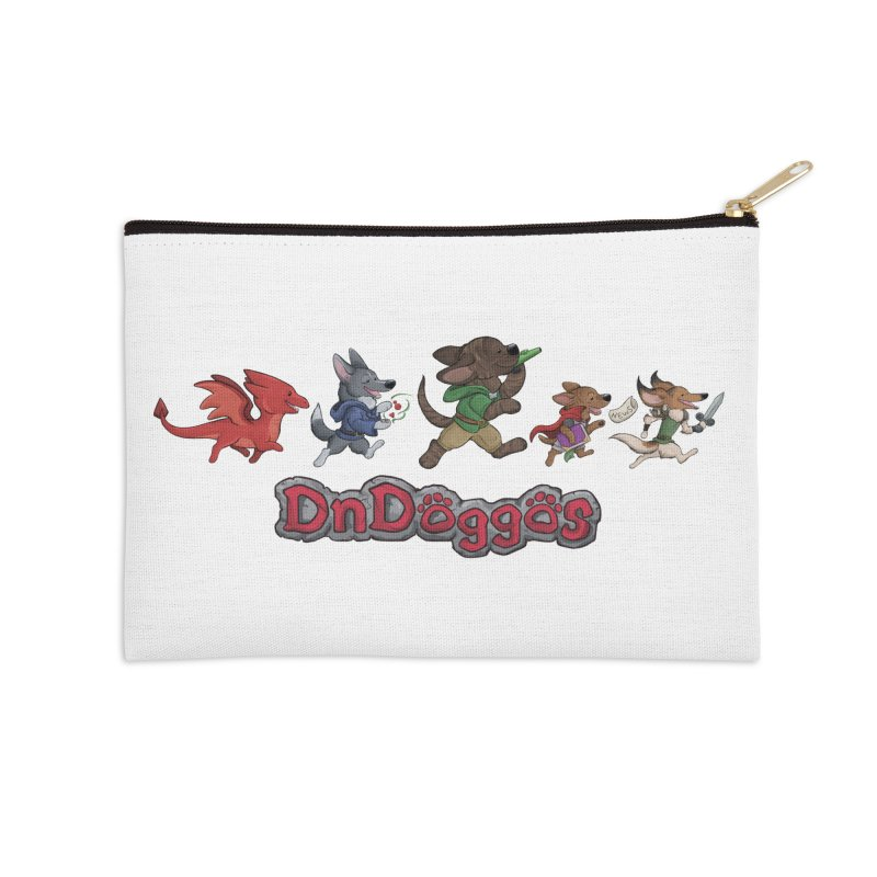 The DnDoggos Accessories Zip Pouch by DnDoggos's Artist Shop