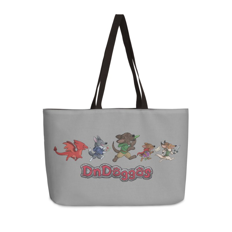 The DnDoggos Accessories Weekender Bag Bag by DnDoggos's Artist Shop
