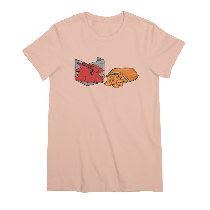 Munchies Women's Premium T-Shirt by DnDoggos's Artist Shop
