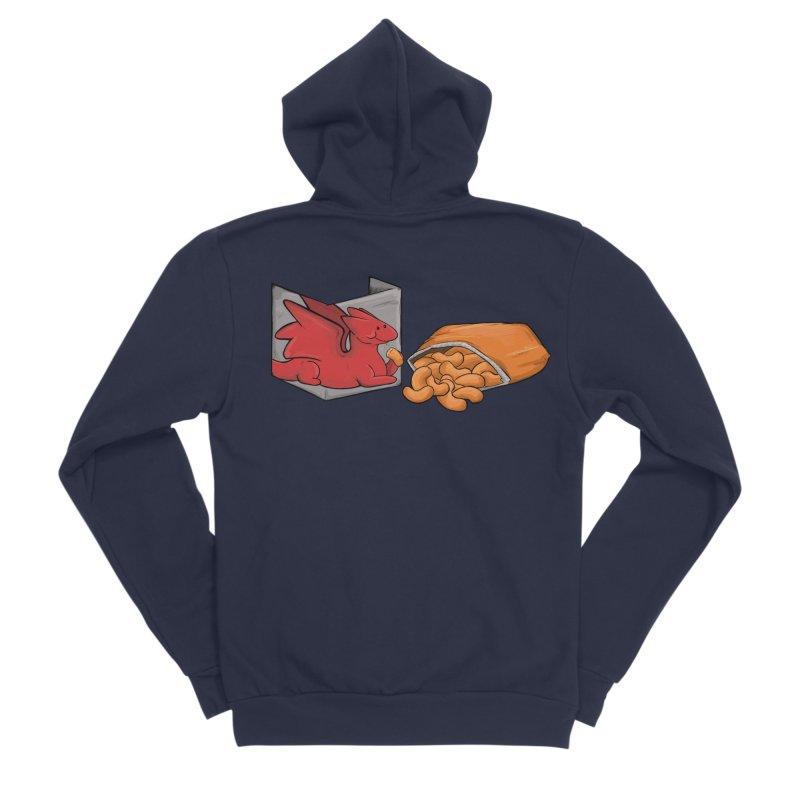 Munchies Men's Sponge Fleece Zip-Up Hoody by DnDoggos's Artist Shop