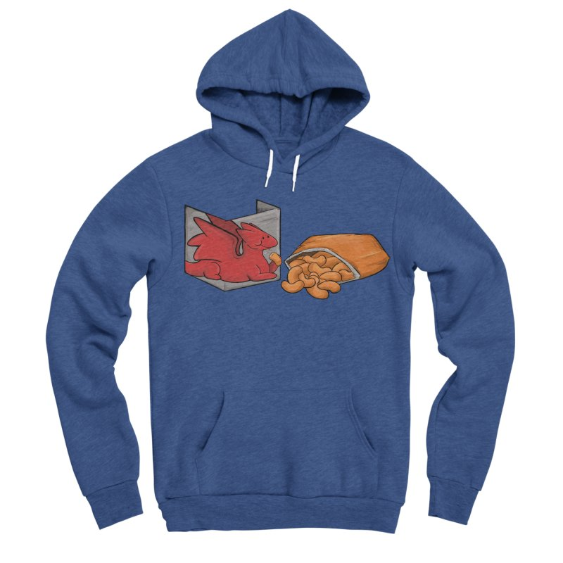 Munchies Men's Sponge Fleece Pullover Hoody by DnDoggos's Artist Shop