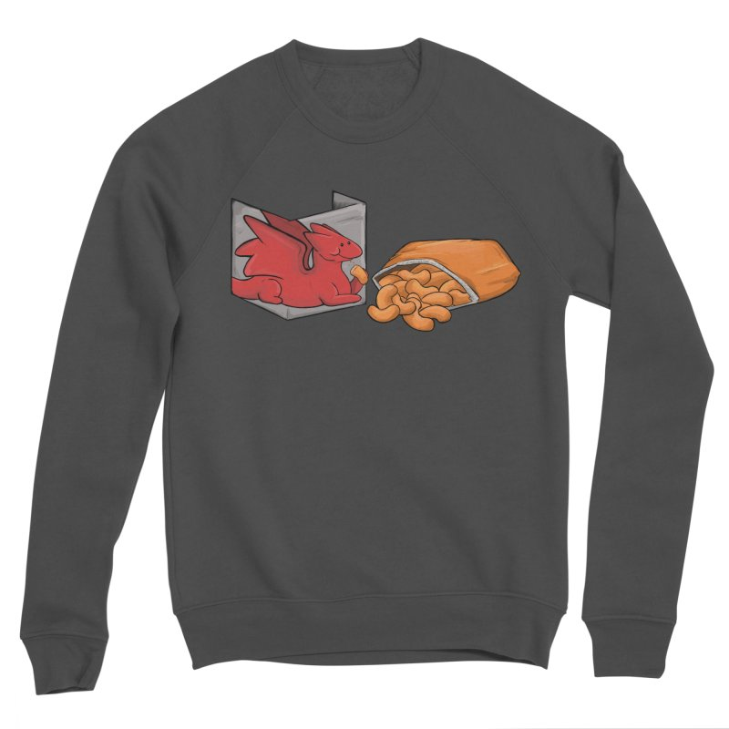 Munchies Men's Sponge Fleece Sweatshirt by DnDoggos's Artist Shop