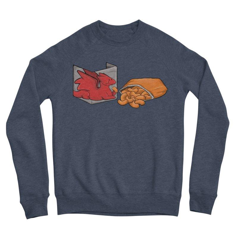 Munchies Men's Sponge Fleece Sweatshirt by DnDoggos's Artist Shop