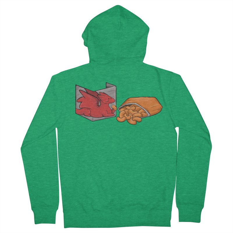 Munchies Men's Zip-Up Hoody by DnDoggos's Artist Shop