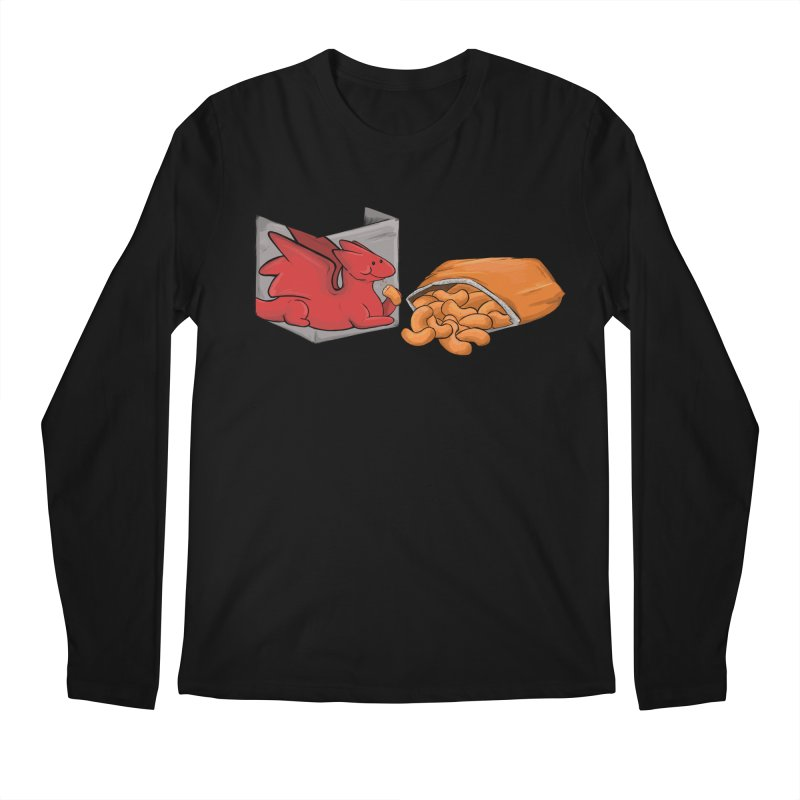 Munchies Men's Longsleeve T-Shirt by DnDoggos's Artist Shop