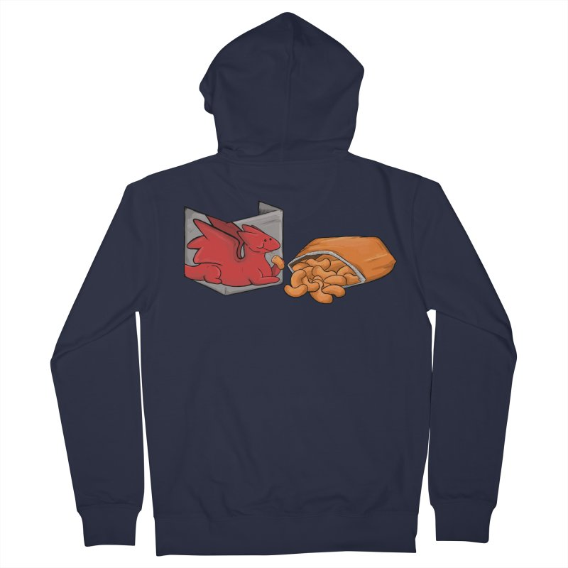 Munchies Men's French Terry Zip-Up Hoody by DnDoggos's Artist Shop