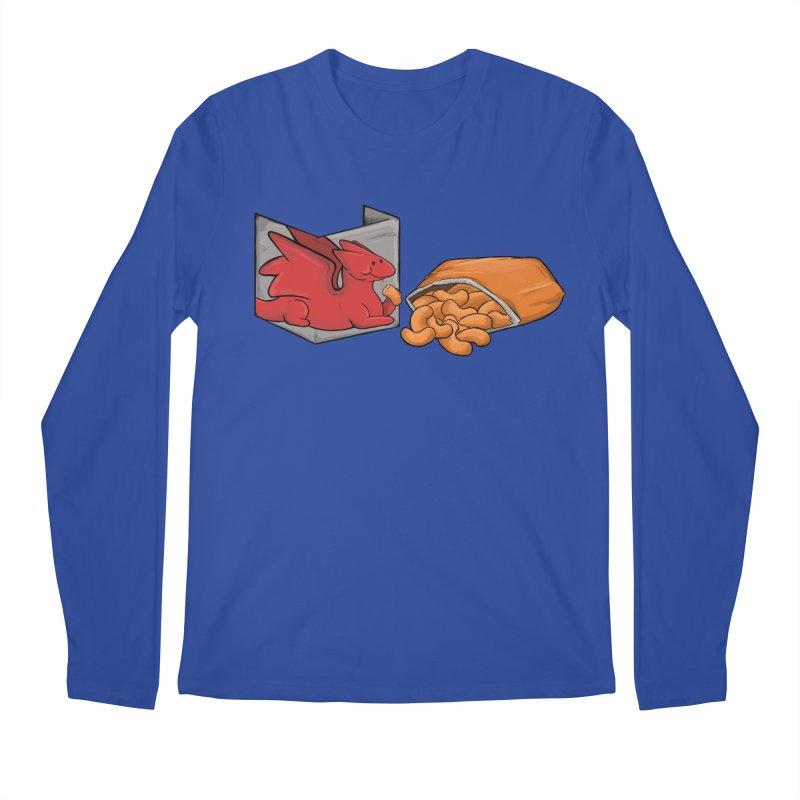 Munchies Men's Regular Longsleeve T-Shirt by DnDoggos's Artist Shop