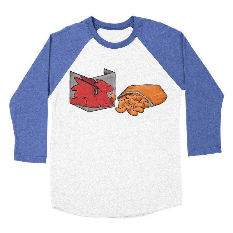Munchies Women's Baseball Triblend Longsleeve T-Shirt by DnDoggos's Artist Shop