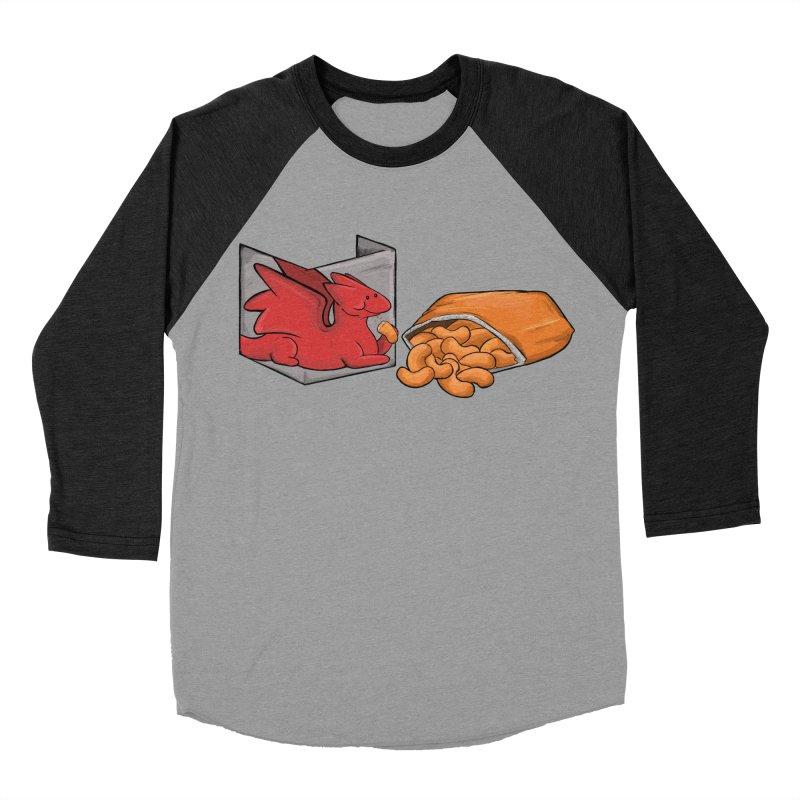 Munchies Men's Baseball Triblend Longsleeve T-Shirt by DnDoggos's Artist Shop