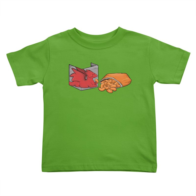 Munchies Kids Toddler T-Shirt by DnDoggos's Artist Shop