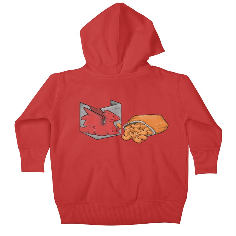 Munchies Kids Baby Zip-Up Hoody by DnDoggos's Artist Shop