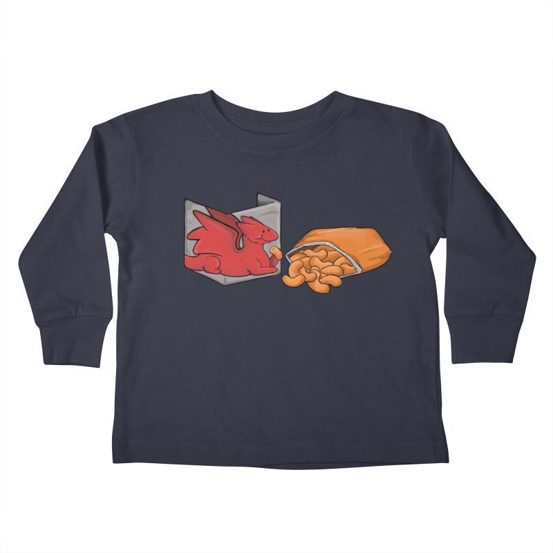 Munchies Kids Toddler Longsleeve T-Shirt by DnDoggos's Artist Shop