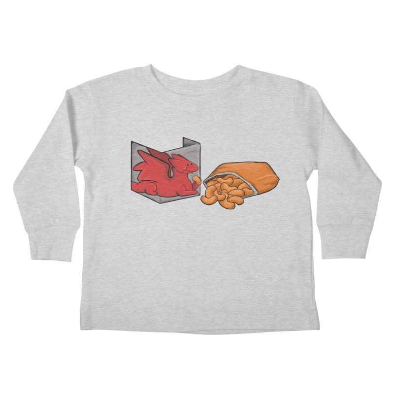 Munchies Kids Toddler Longsleeve T-Shirt by DnDoggos's Artist Shop