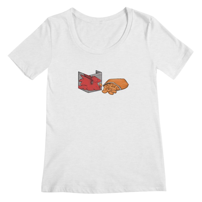 Munchies Women's Scoop Neck by DnDoggos's Artist Shop
