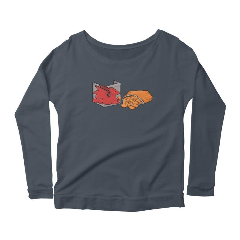 Munchies Women's Scoop Neck Longsleeve T-Shirt by DnDoggos's Artist Shop