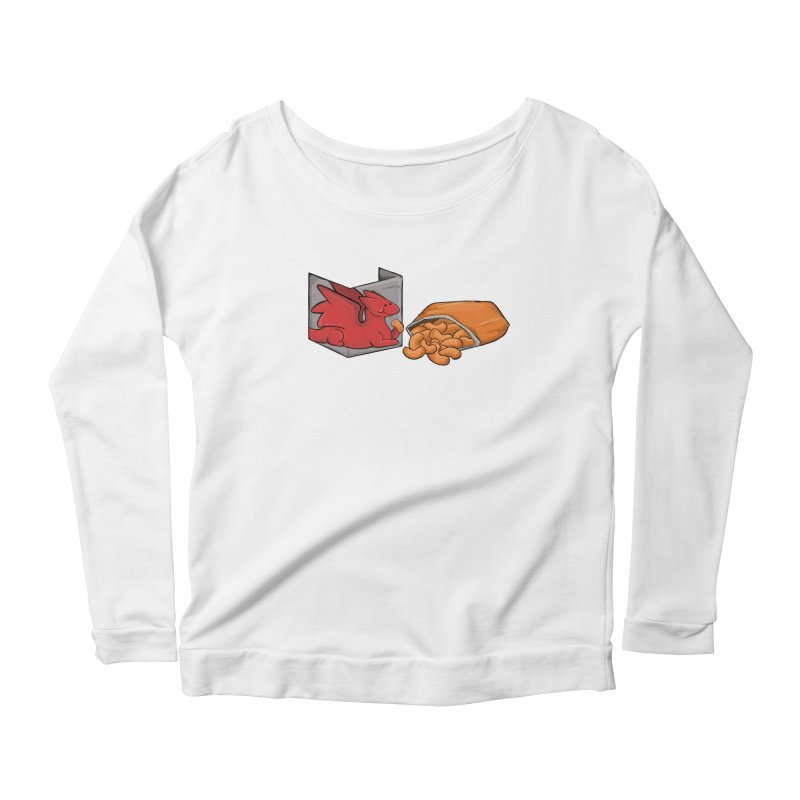Munchies Women's Scoop Neck Longsleeve T-Shirt by DnDoggos's Artist Shop